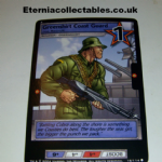 G.I.Joe Trading card Game 2004 17/114 No 17 Greenshirt Coast Guard (common) @sold@